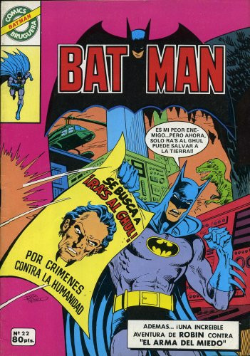 Batman Vol.1 nº 22