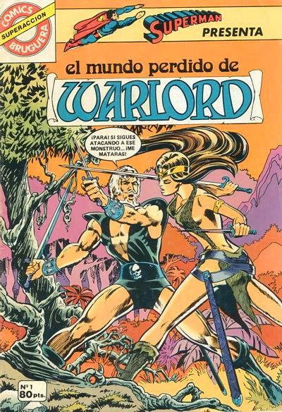 Warlord Vol.1 nº 1