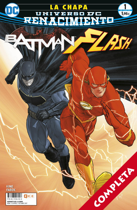 Batman / Flash: La Chapa Vol.1 - Completa -