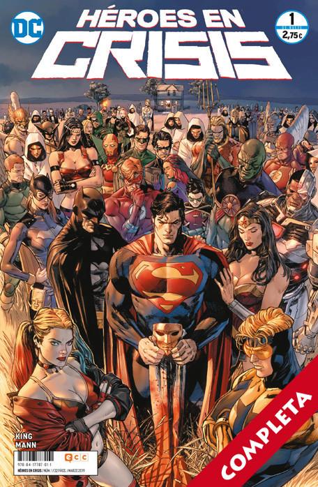Héroes en Crisis Vol.1 - Completa -