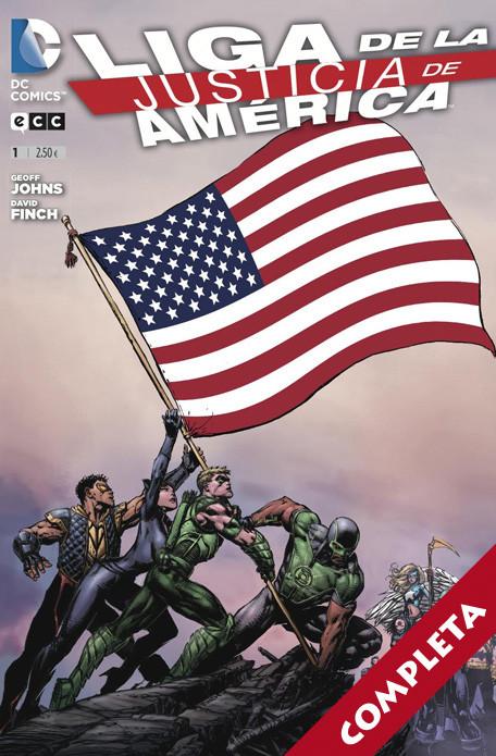 Liga de la Justicia de América Vol.1 - Completa -