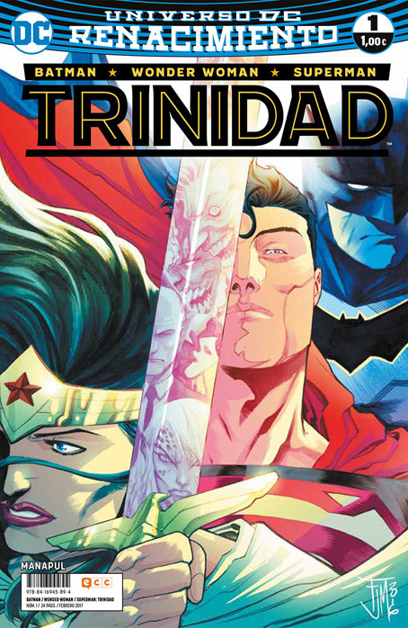 Batman / Wonder Woman / Superman: Trinidad Vol.1 nº 1