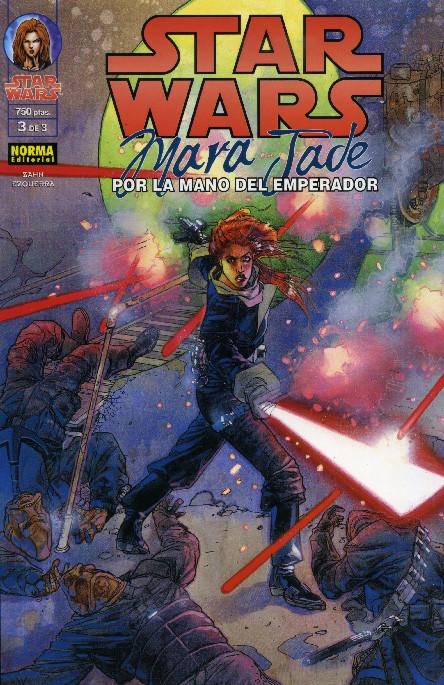 Star Wars. Mara Jade: Por la mano del Emperador nº 3