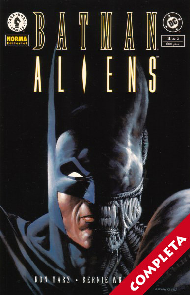 Batman / Aliens Vol.1 - Completa -