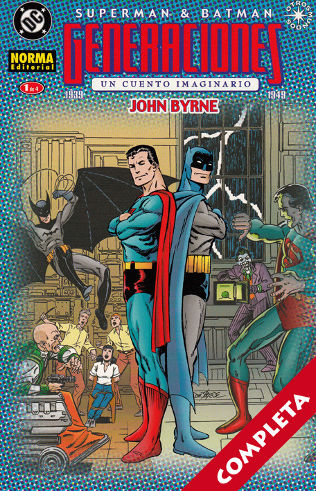 Superman / Batman: Generaciones Vol.1 - Completa -