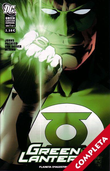 Green Lantern Especial Vol.1 - Completa -
