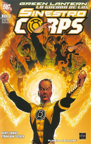 Green Lantern: La Guerra de los Sinestro Corps Vol.1 nº 1