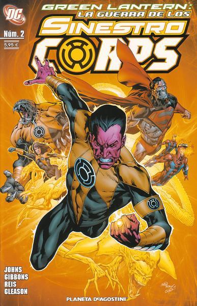 Green Lantern: La Guerra de los Sinestro Corps Vol.1 nº 2