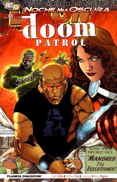 Doom Patrol Vol.2 nº 1 - La noche más oscura