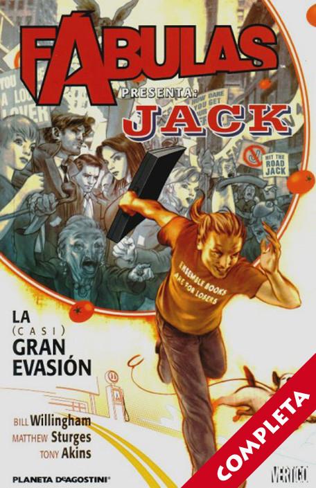 Fábulas Presenta: Jack de Fábulas Vol.1 - Completa -