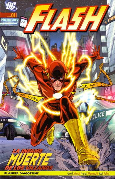 Flash Vol.4 nº 1 - La infame muerte de los villanos