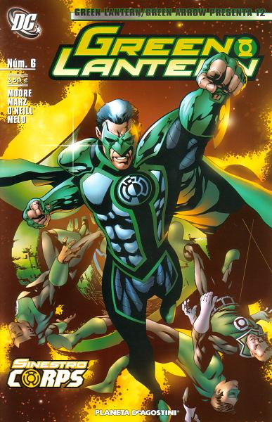 Green Lantern / Green Arrow Presenta Vol.1 nº 12 - Green Lantern Vol.1 nº 6