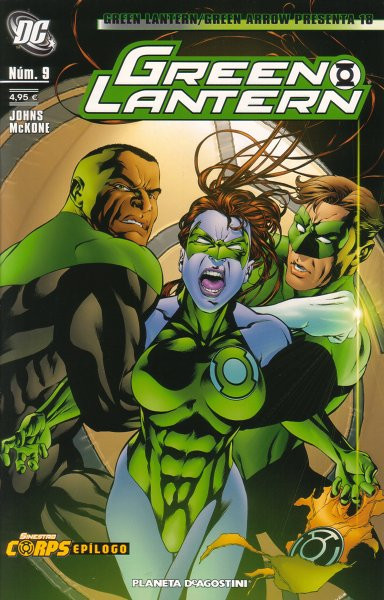 Green Lantern / Green Arrow Presenta Vol.1 nº 18 - Green Lantern Vol.1 nº 9