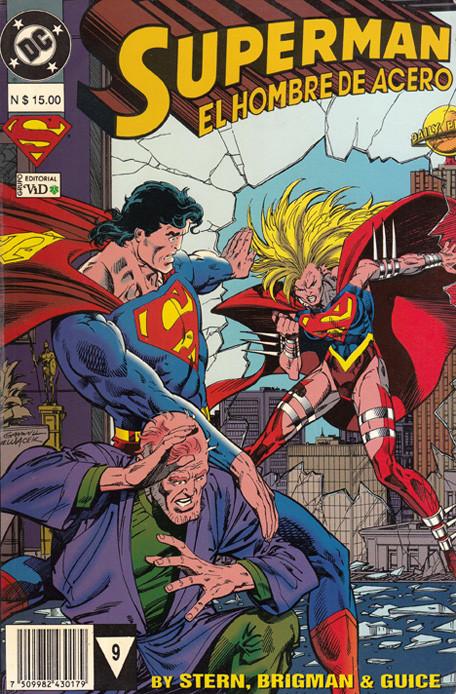 Superman: El hombre de acero Vol.1 nº 9