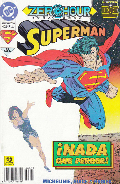 Zero Hour. Superman ¡Nada que perder!