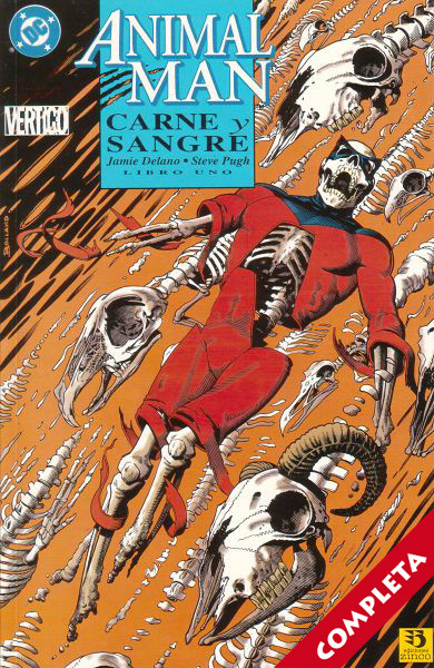Animal Man: Carne y Sangre Vol.1 - Completa -