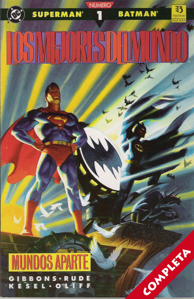Superman / Batman: Los mejores del mundo Vol.1 - Completa -
