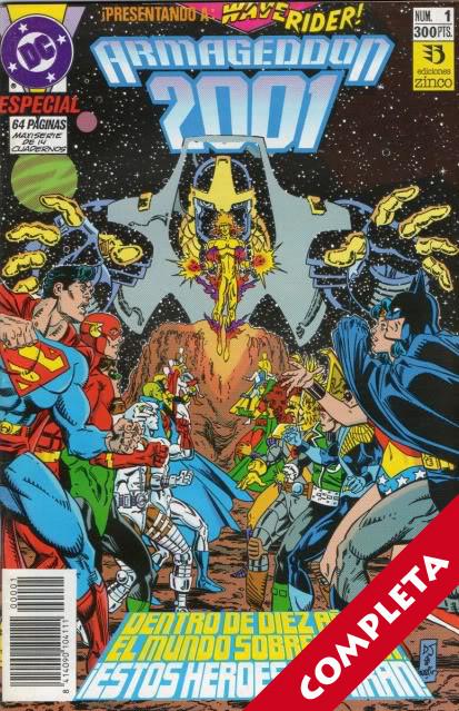 Armageddon 2001 Vol.1 - Completa -