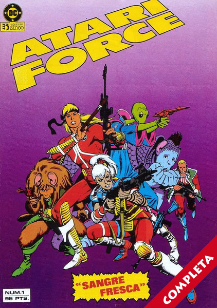 Atari Force Vol.1 - Completa -