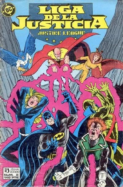 Liga de la Justicia Vol.1 nº 2