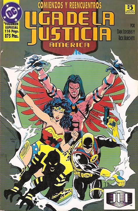 Liga de la Justicia América Vol.2 nº 3
