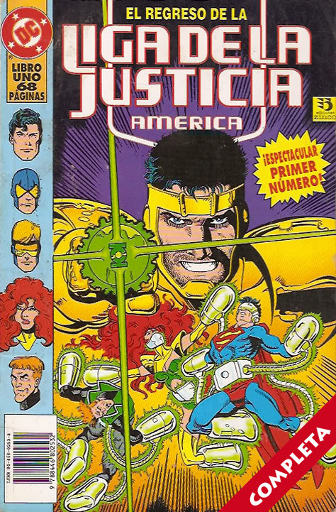 Liga de la Justicia América Vol.2 - Completa -