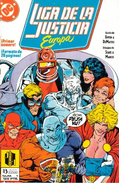 Liga de la Justicia Europa Vol.1 nº 1