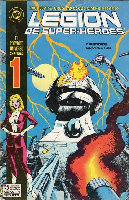 Legión de Super-Héroes Vol.1 nº 1