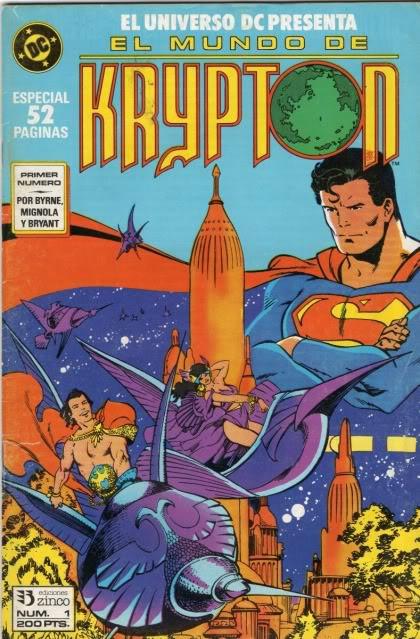 Universo D.C. Vol.1 nº 1 - El mundo de Krypton