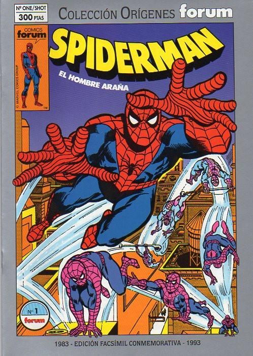 Colección Orígenes Forum: Spiderman