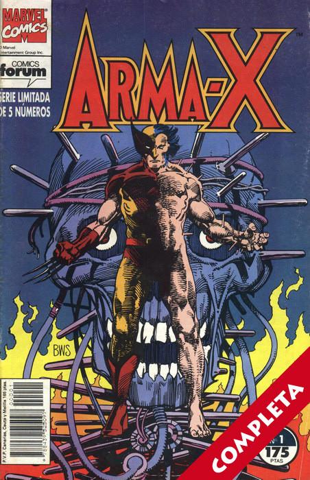 Arma-X Vol.1 - Completa -