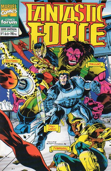 Fantastic Force Vol.1 nº 1