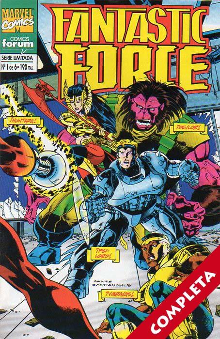 Fantastic Force Vol.1 - Completa -