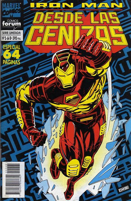 Iron Man: Desde las Cenizas Vol.1 nº 5