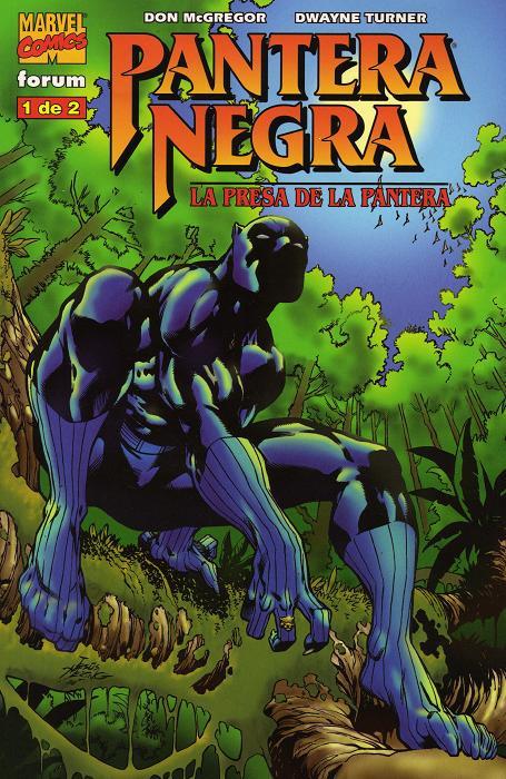 Pantera Negra: La Presa de la Pantera Vol.1 nº 1