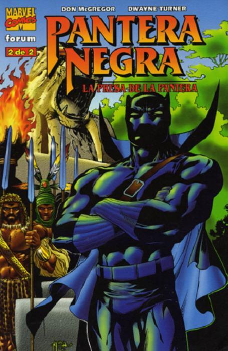 Pantera Negra: La Presa de la Pantera Vol.1 nº 2