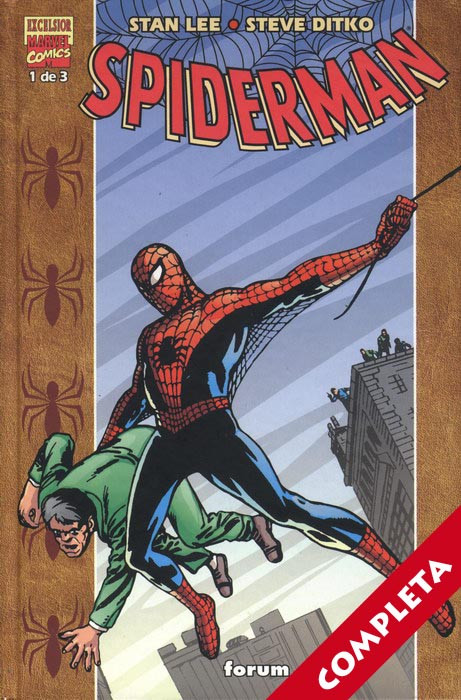 Stan Lee y Steve Ditko: Spiderman Vol.1 - Completa -