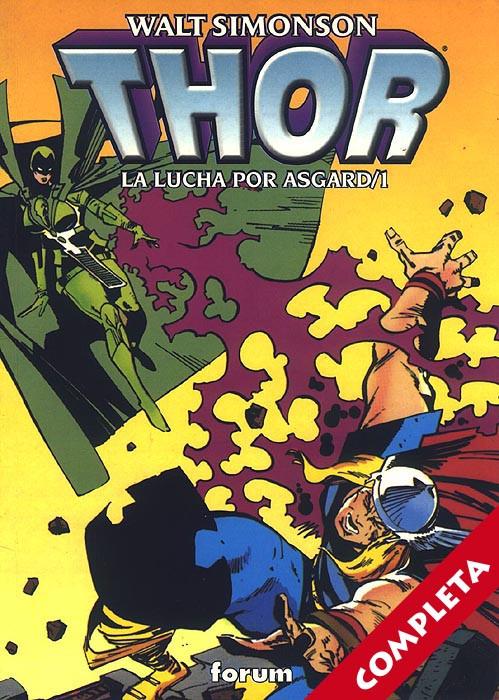 Thor: La Lucha por Asgard Vol.1 - Completa -