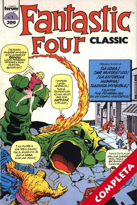 Fantastic Four Classic Vol.1 - Completa -