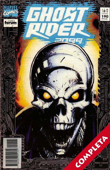 Ghost Rider 2099 Vol.1 - Completa -