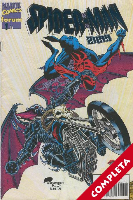 Spiderman 2099 A.D. Vol.1 - Completa -
