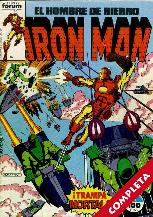 Iron Man Vol.1 - Completa -