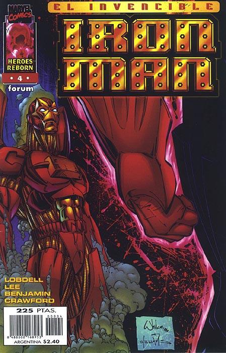 Héroes Reborn: Iron Man Vol.1 nº 4