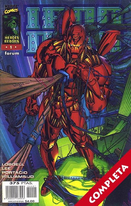Héroes Reborn: Iron Man Vol.1 - Completa -