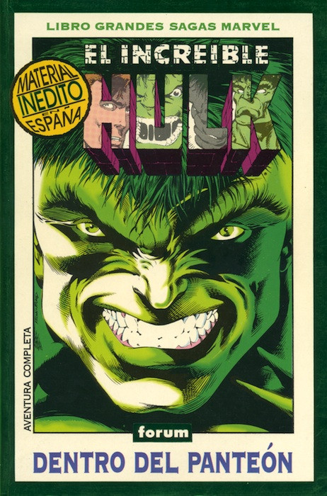 Libros Grandes Sagas Marvel Vol.1 nº 2 - El Increible Hulk 1