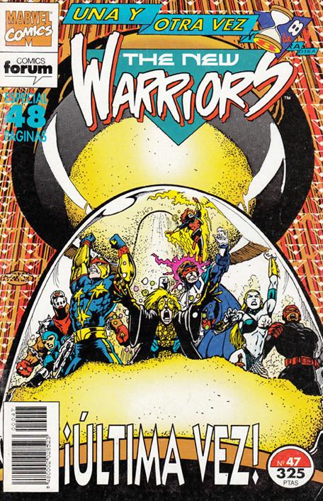 The New Warriors Vol.1 nº 47