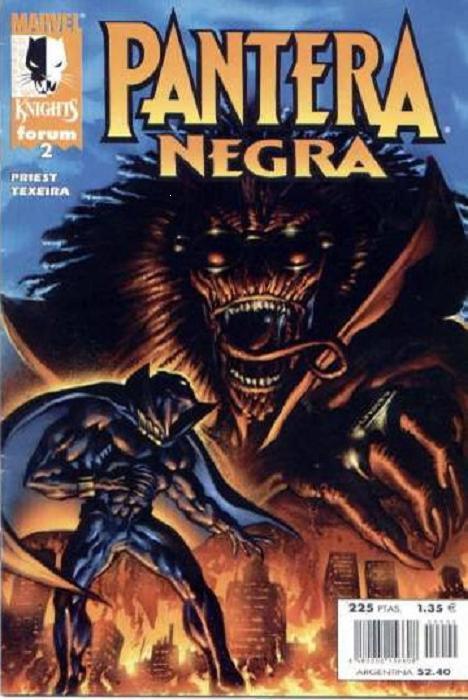 Marvel Knights: Pantera Negra Vol.1 nº 2