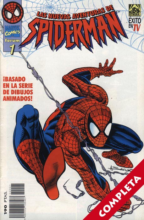 Las Nuevas Aventuras de Spider-Man Vol.1 - Completa -