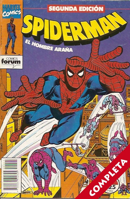 Spiderman Vol.1 (2ª Edicion) - Completa -