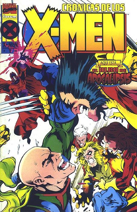 Crónicas de los X-Men Vol.1 nº 1